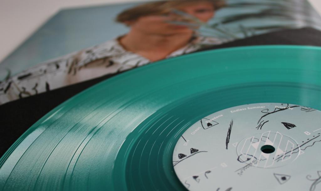 Olivier Heim Promo Blue Vinyl 2 3.0